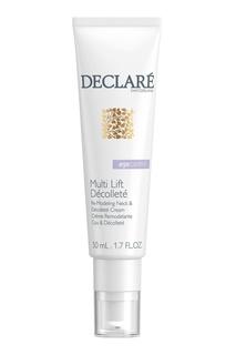 Multi Lift Décolleté Интенсивное лифтинговое средство для шеи и декольте, 50 ml Declare