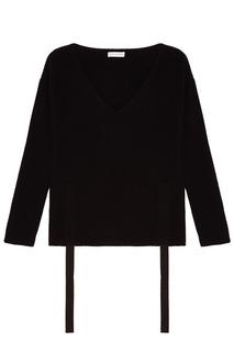 Черный пуловер из кашемира Altuzarra