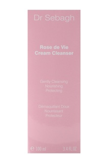 Нежный очищающий крем для лица Роза Жизни ROSE DE VIE CREAM CLEANSER, 100 ml Dr Sebagh