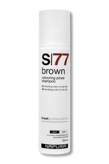 Оттеночный шампунь для коричневых оттенков, 200 ml Napura