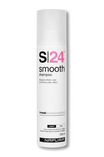 Шампунь для выпрямления и гладкости волос, 200 ml Napura