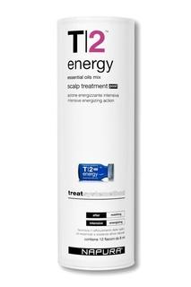 Ампулы против выпадения волос для нормальной кожи головы, 12 * 8 ml Napura
