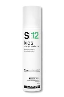 Детский душ-шампунь для деликатного мытья волос и тела, 200 ml Napura