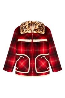 Красная куртка в клетку No.21