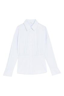 Голубая рубашка в полоску Sandro