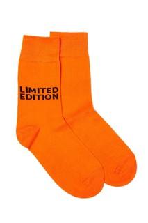 Оранжевые носки с логотипом Artem Krivda