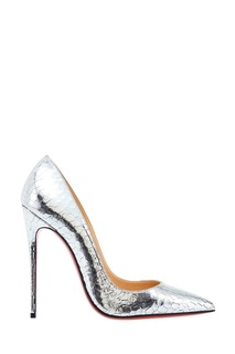 Серебристые туфли So Kate 120 Christian Louboutin