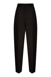 Черные прямые брюки Sandro