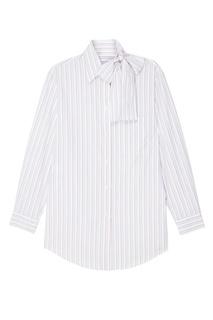 Рубашка с бантом Prada