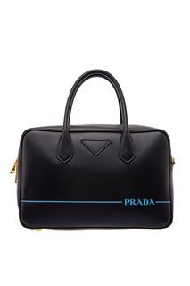 Черная сумка Mirage Medium Prada