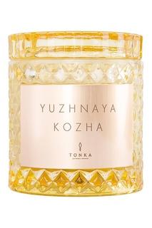 """Парфюмированная свеча """"Y U Z H N A Y A K O Z H A"""", 300 g Tonka"""