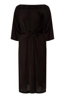 Черное платье с поясом Lisa Isabel Marant Etoile