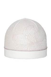 Пудровая шапка с цветком Jacote
