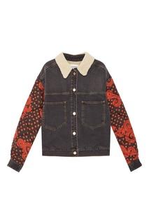 Текстильная куртка-бомбер с отделкой Isabel Marant Etoile