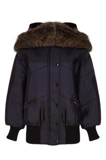 Объемная куртка с мехом Miu Miu