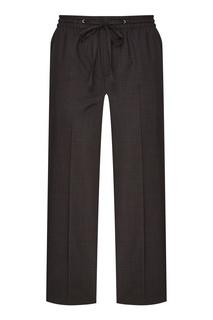 Укороченные шерстяные брюки Miu Miu
