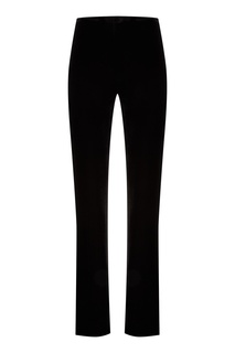 Черные велюровые брюки Miu Miu