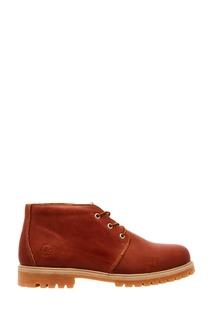 Красно-коричневые ботинки Affex
