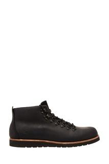 Черные ботинки из нубука Affex