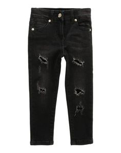 Джинсовые брюки Monnalisa