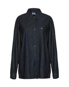 Джинсовая рубашка Lacoste