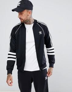 Черная спортивная куртка adidas Originals Authentic Superstar DJ2856 - Черный