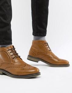 Ботинки броги New Look - Рыжий