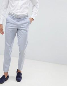 Зауженные брюки Burton Menswear Wedding - Синий