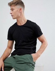Базовая футболка с карманом Produkt - Черный