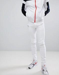 Белые байкерские джинсы скинни Sixth June - Белый
