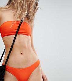Комбинируемые плавки бикини с высоким вырезом South Beach - Оранжевый