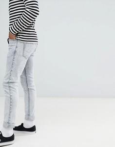 Узкие голубые джинсы Dr Denim - Белый