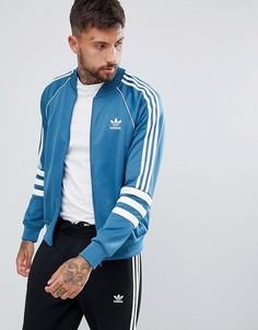 Синяя спортивная куртка adidas Originals Authentic Superstar DJ2857 - Синий