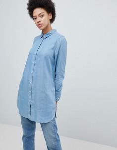 f3f5e91e0ff Рубашки удлиненные женские - купить в интернет-магазинах - LOOKBUCK