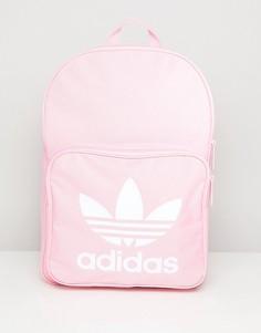 Розовый классический рюкзак adidas Originals - Розовый