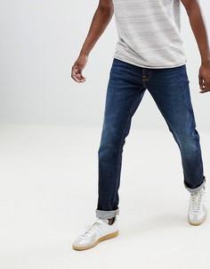 Прямые джинсы Nudie Jeans Co Dude Dan - Темно-синий