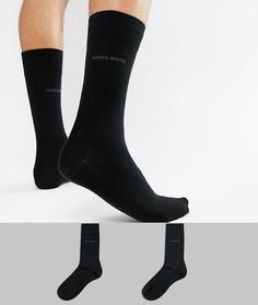 Набор из 2 пар носков BOSS - Черный