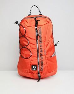 Оранжевый рюкзак AAPE By A Bathing Ape - Оранжевый