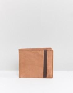 Кожаный складной кошелек Dead Vintage - Рыжий