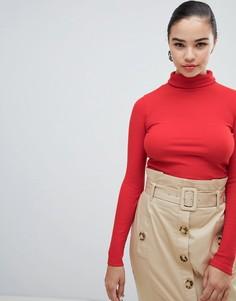 Водолазка в рубчик New Look - Красный