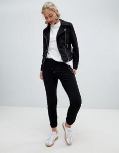Мягкие спортивные брюки Esprit - Черный