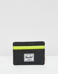 Кредитница с RFID-защитой Herschel Supply Co Charlie - Черный