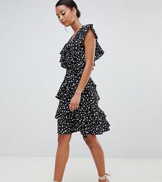 Платье мини Y.A.S Tall Sadotta - Черный