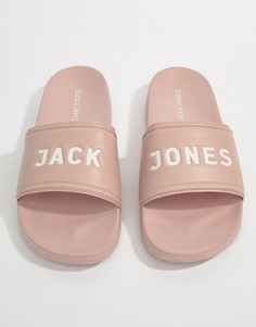 Шлепанцы Jack & Jones - Розовый