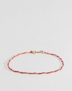 Позолоченный серебряный браслет DesignB - Золотой