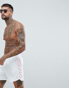Шорты для плавания с затягивающимся шнурком Calvin Klein - Белый