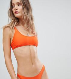 Укороченный бикини-топ South Beach - Оранжевый