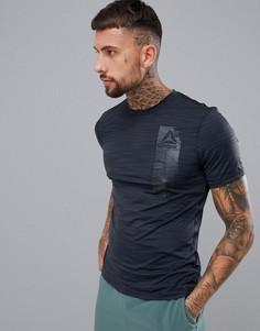 Черная футболка Reebok Training Work Out Ready D94235 - Черный