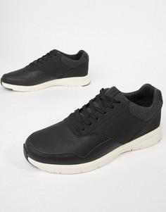 Кроссовки со вставками Jack & Jones - Черный
