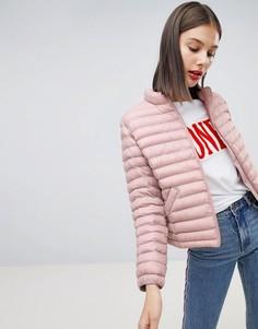 Короткая дутая куртка Esprit - Розовый